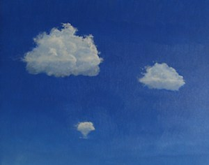 10. Three clouds